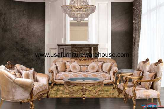 Golden Knights Sofa Set