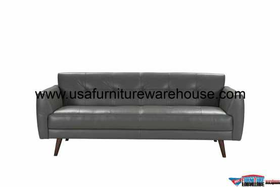 Adda Italian Leather Sofa