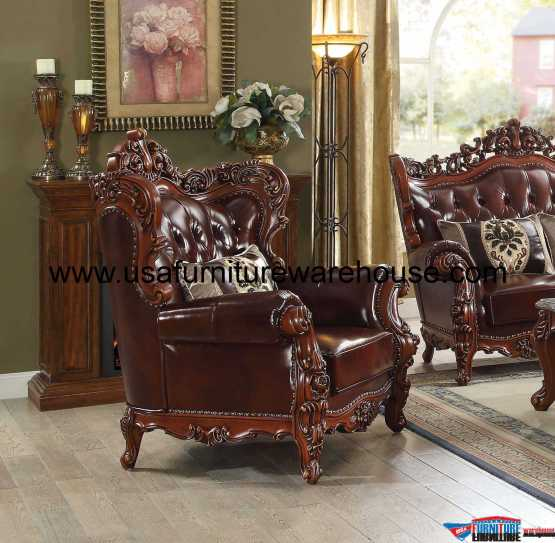 Eustoma Leather Chair