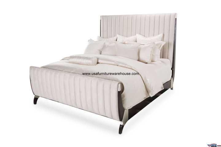 Paris Chic Sleigh Bed