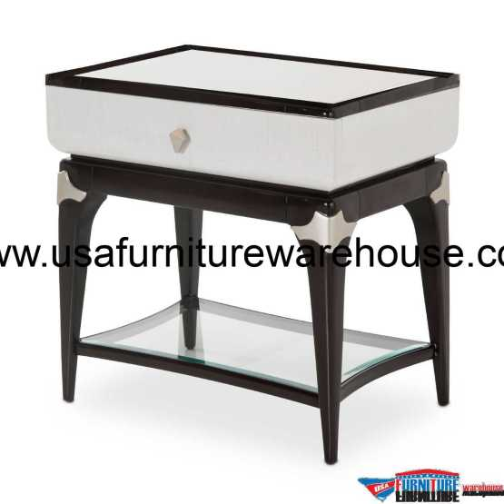 Paris Chic Rectangular End Table
