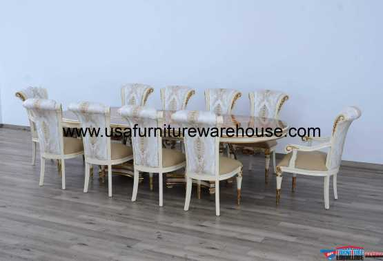 11 Piece Valentina Masterpiece Dining Set