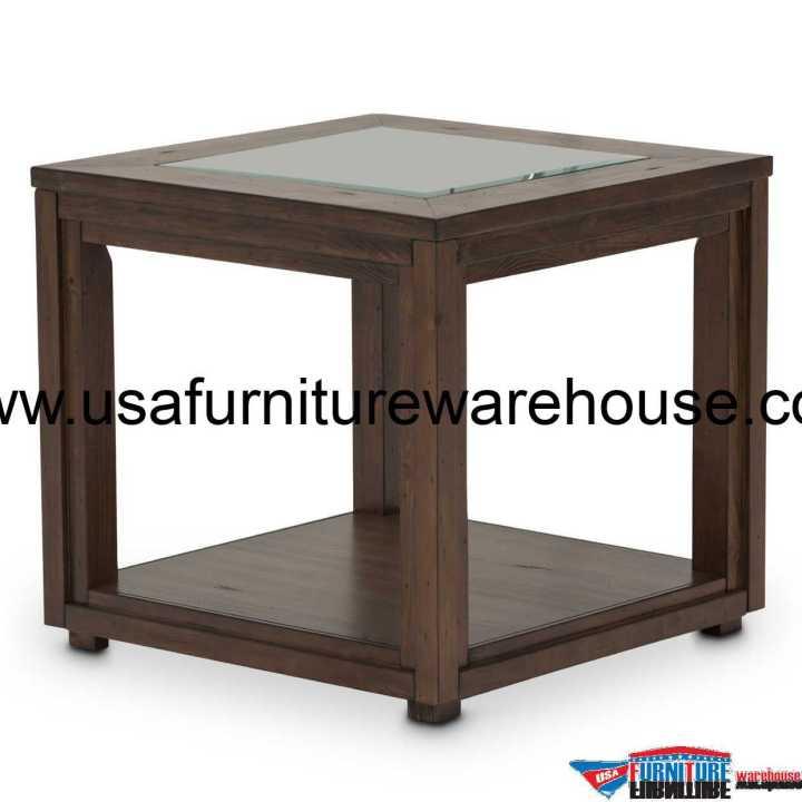 Carrollton Rustic End Table