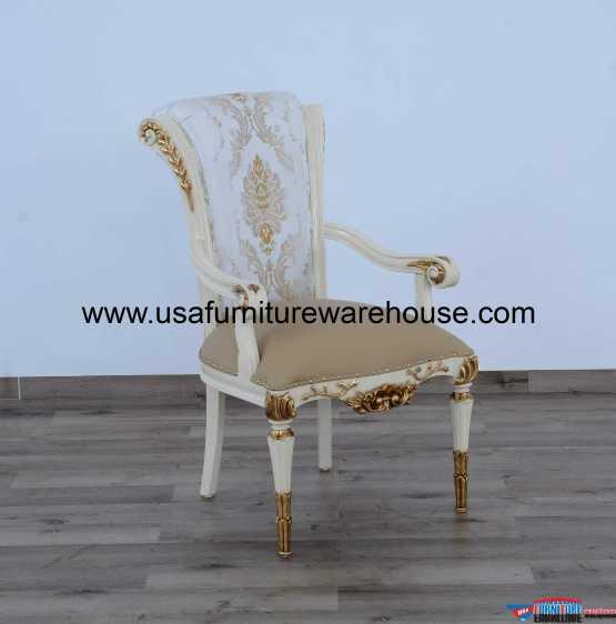 Valentina Luxury Dining Arm Chair