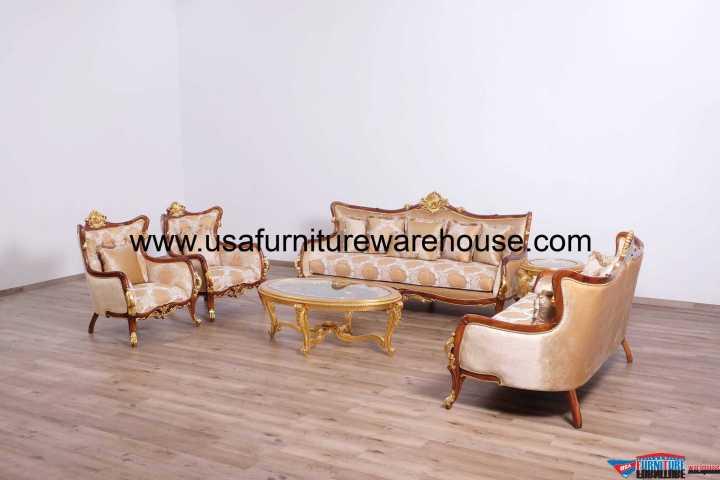 Veronica II Luxury Sofa Set