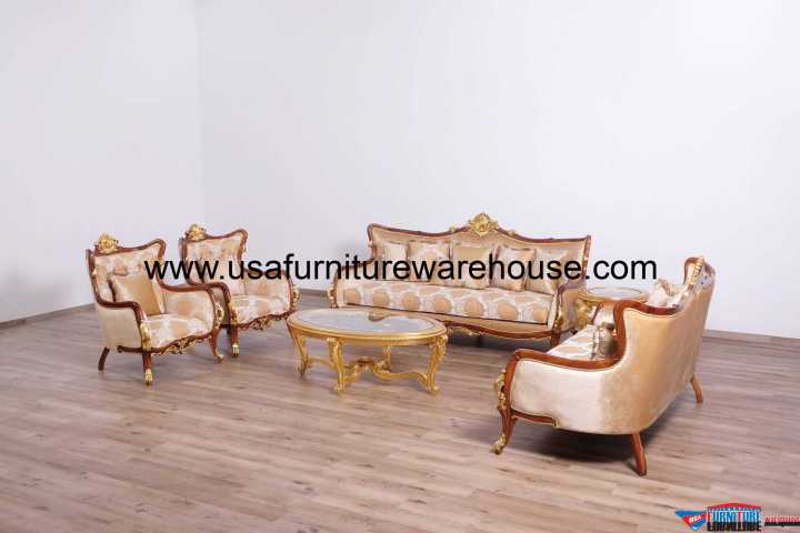 Veronica II Luxury Sofa Set