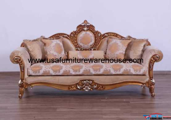 Raffaello II Brown Sofa