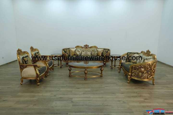 3 Piece Bellagio Antique Bronze Sofa Set