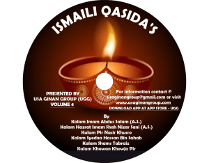 Ismali Qasidas