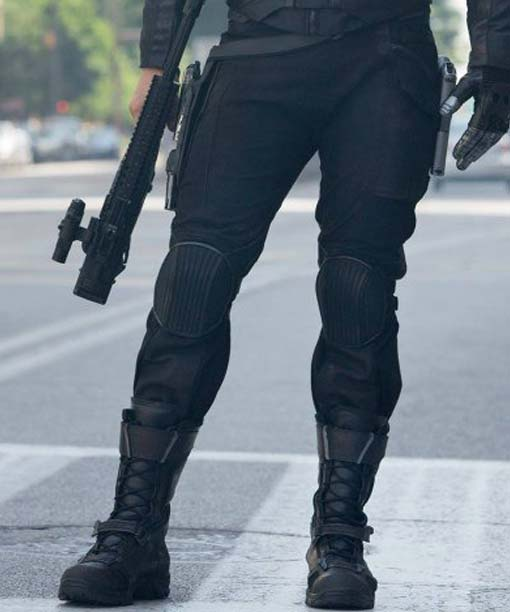 Bucky Barnes The Winter Soldier Costume Pant
