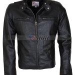 Bradley Cooper Adam Jones Black Leather Jacket Black Friday Sale Halloween Sale Mens Leather Jacket Free Shipping Biker Leather Jacket