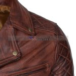 Brando Vintage Motorcycle Leather Jacket Now for Sale