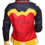 DC Comics Wonder Women Celebrity Leather Jacket Sale Free Shipping