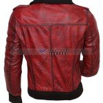 Designer Waxed Women Motorbike Leather Jacket Buy Now