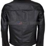 Elvis Presley Men Vintage Leather Jacket Free Shipping