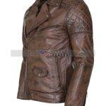 Mens-Brown-Vintage-Designer-Brando-Leather-Jacket-Herren-Leder-Jacke-
