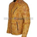 Mens-Camel-Color-Vintage-Waxed-Designer-Leather-Jacket-