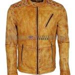 Mens-Camel-Color-Vintage-Waxed-Designer-Leather-Jacket-Herren-leder-jacke-kaufen-