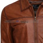 Simple-Brown-Waxed-Men-Leather-Jacket–hot-Sale-buy-now