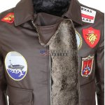 Tom-Cruise-Top-Gun-Mens-Leather-Brown-Jacket-Bomber-Jacket-Mens-