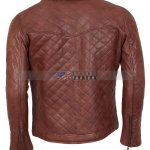 Mens Brown Biker Soft Casual Leather Jacket Free  Shipping Online Sale Black Friday Sale Buy Now