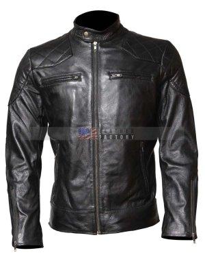 David Beckham Leather Jacket