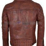 Designers Men Brando Brown Leather Jacket