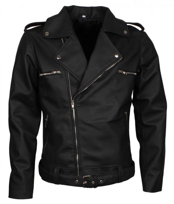 Negan Brando Leather Jacket For Mens