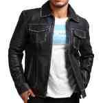 David Star Men Vintage Cowhide Jacket For Sale USA