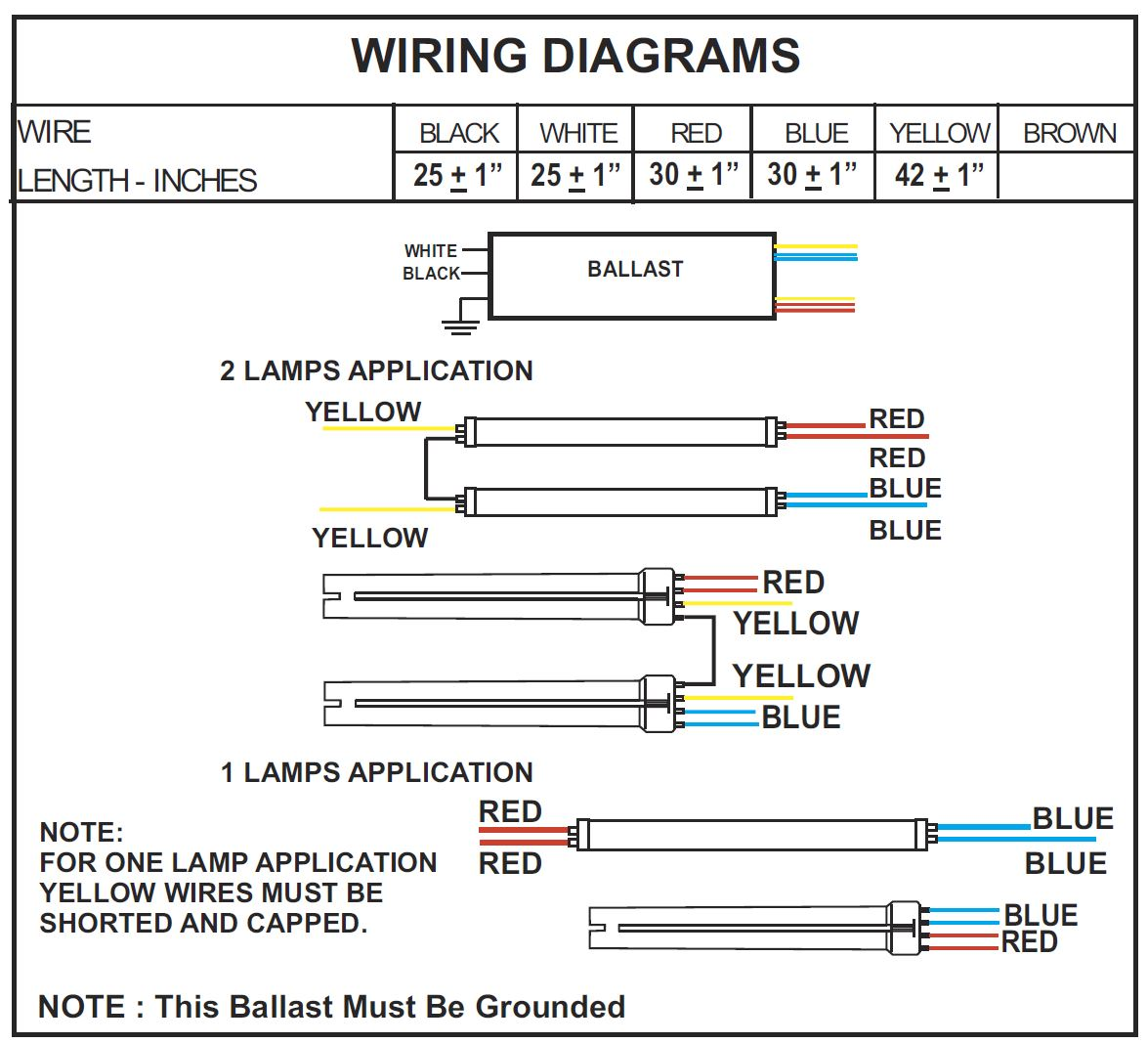 Ballast Wiring Diagram T8 - Wiring Diagram