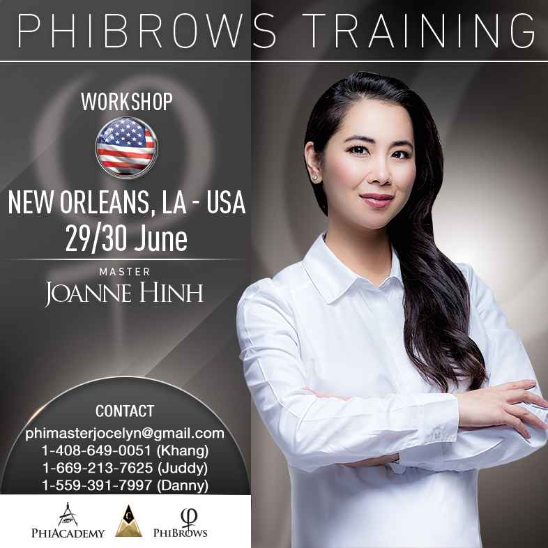 PhiBrows Microblading/ NEW ORLEANS - USA - USA PhiAcademy