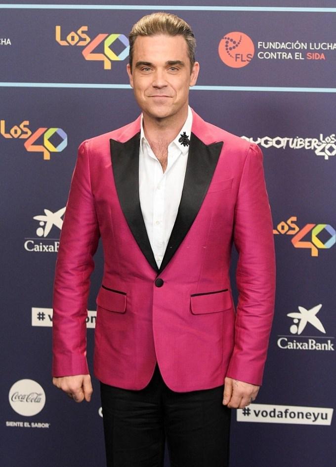 Robbie Williams Net Worth