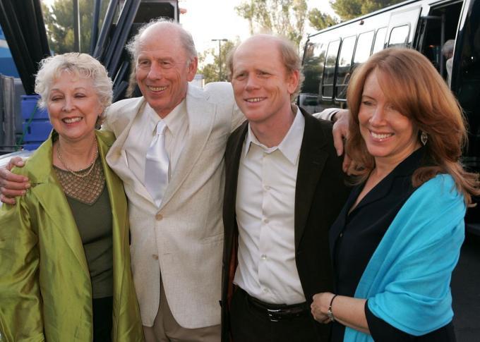 Ron Howard Family