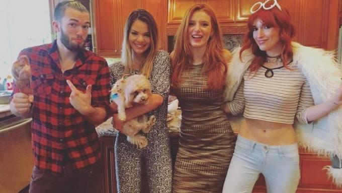 Bella Thorne Family