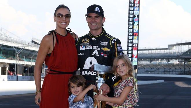 Jeff Gordon Family