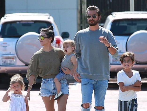 Scott Disick Family