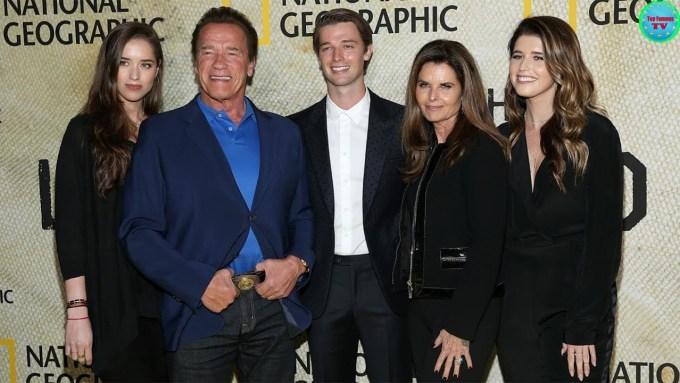 Arnold Schwarzenegger Family