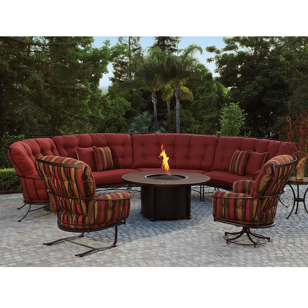 fire pit table ow monterra set7