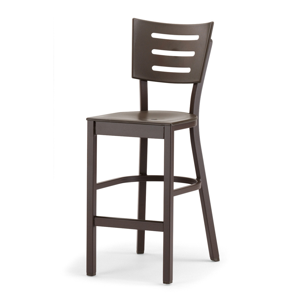 telescope casual avant mgp aluminum stacking armless counter height chair