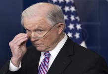 Jeff Sessions, patience with the attorney general, lose patience with the attorney, patience with the attorney, going to lose patience, attorney general