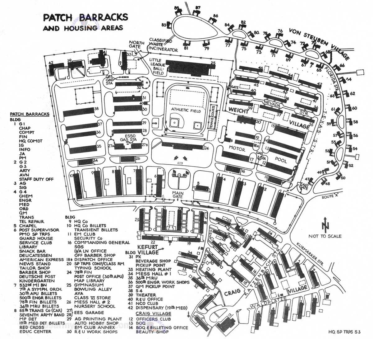 Patch Barracks Vaihingen