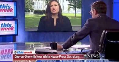 ABC Reporter George Stephanopoulos Calls Sarah Huckabee Sanders  A LIAR … WATCH ALL HELL BREAK LOOSE! (VIDEO)