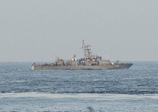 Iranian Naval Ship Comes Comes Within 150 YARDS Of US Navy Patrol Boat, Watch Our Navy Response! (Video)