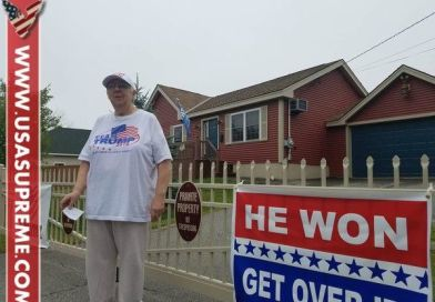 WATCH! Woman Ordered to Take Down Pro-Trump Signs…Her Answer Will Make You Cry Tears Of Joy