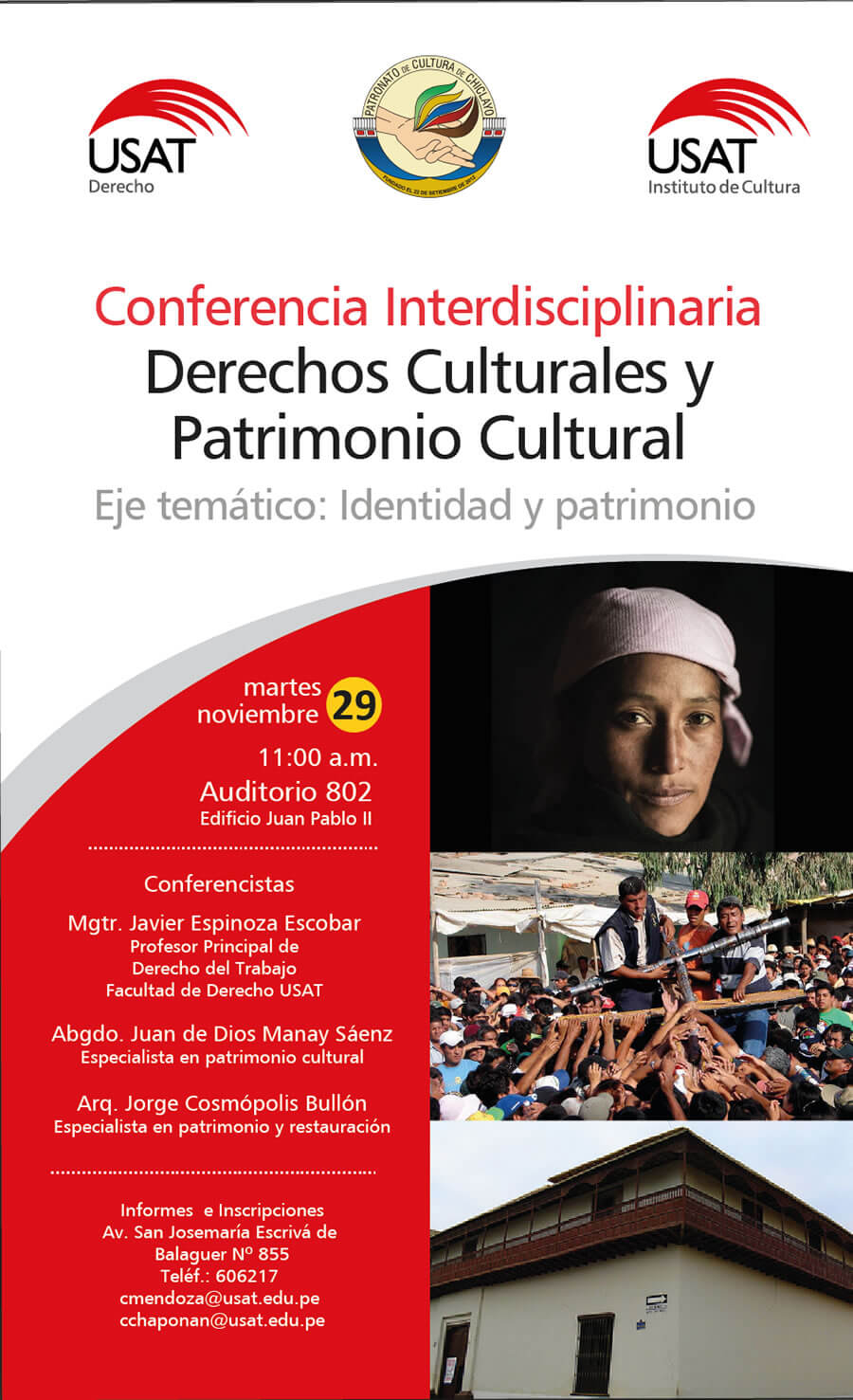 Conferencia Interdisciplinaria. Derechos Culturales y Patrimonio Cultural