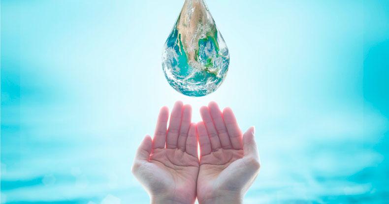 Tú necesitas del agua y el agua necesita de ti