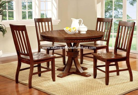 Foster I Round Dining Set CM3437RT
