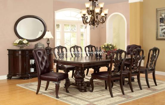 Bellagio Dining Set Wooden Side Chair CM3319TW