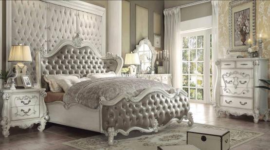 Versailles Bedroom Set Vintage Gray