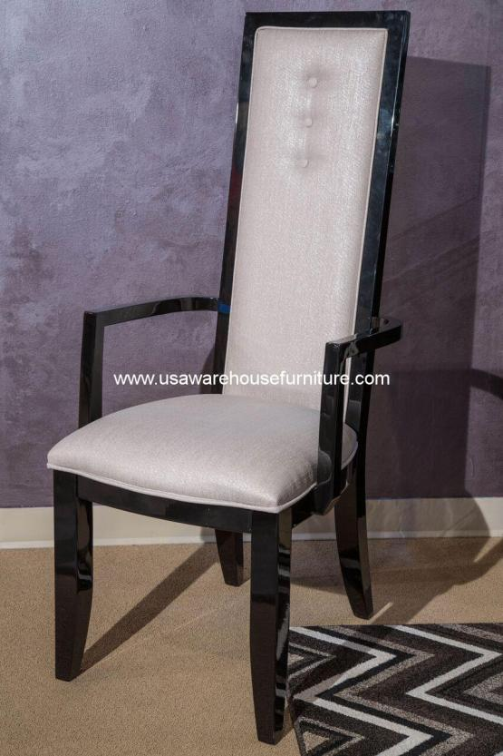 Sky Tower Black Ice Arm Chair